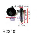 Саморез под ключ с шайбой Ford (N801169S900, W710763S901)
