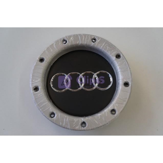 Колпак на литые диски Audi / черный / хром 60x146mm (1 шт) 8DO601165K