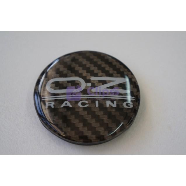 Колпачок на литые диски OZ Racing 53x56 mm Карбон (1 шт)