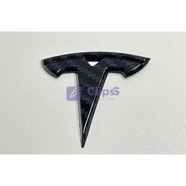 Эмблема руль Tesla (карбон)